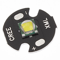Cree XML-T6 White 16mm LED lampun (musta)