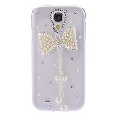 Bling Design Bowknot Style STRASS Hard Case för Samsung Galaxy S4 I9500