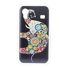 Elephant Pattern Hard Case for Samsung Galaxy Ace S5830