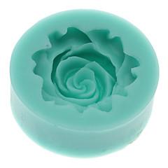 3D Rose în formă de silicon cookie Biscuit Mold