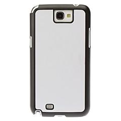 Custodia rigida di colore solido per Samsung Galaxy Note 2 N7100