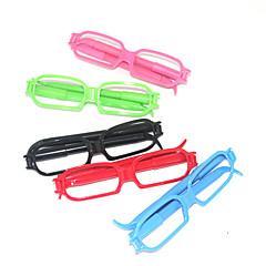 Glasses-Shaped Ballpoint Pen (Random Color)