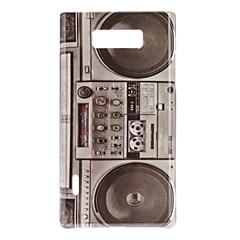 Retro styl Radio Wzór Hard Case do LG Optimus L7 P705
