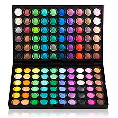Παλέτα με Επαγγελματικές Σκιές Ματιών 120 Ματ & Γυαλιστερά Χρώματα 3 σε 1
