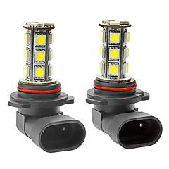 9006 3.5W 18x5050SMD 216LM 6000-6500K White Light LED Corn Bulb for Car Fog Lamp (DC 12V, 1-Pair)