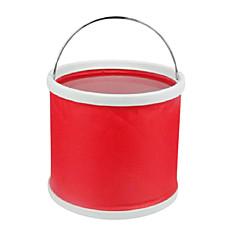 9 리터 접이식 물통 (레드)