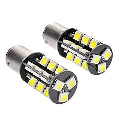 1142 / S23 5W 6000-6500K 350LM 27x5050SMD LED White Light Car Lampen (DC 12V, 1-Pair)
