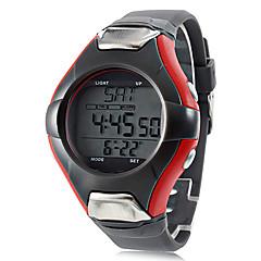 Herren / Damen / Unisex Sportuhr Quartz LCD / Kalender / Chronograph / Wasserdicht / Alarm Band Grau Marke-