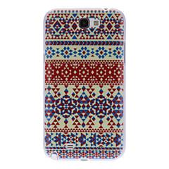 Värikäs Carpet Pattern Hard Case for Samsung Galaxy Note 2 N7100