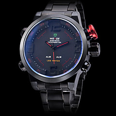 weide® Herrenuhr Sport-Analog-Digital-LED wasserdicht Multifunktions-