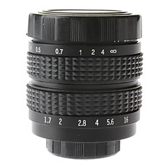 "35mm F1.7 CCTV Lens on Micro 2/3"" C (Black)"