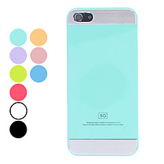 caso del diseño simple del color sólido duro para el iphone 5/5s (colores surtidos)
