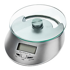"Stijlvolle 2.0 ""LCD Digital Kitchen Scale (3 kg Max / 1x CR2032)"