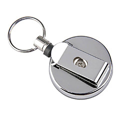 Metal retráctil Badge Reels Buckle HUI-125
