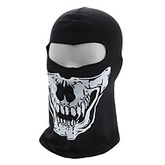 Elastic Skull Pattern Winter Full-Face Coverage Mask Headgear