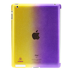 Double Colors 3D Water Drops Pattern PC Hard Case for iPad 2/3/4