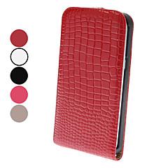 Flip-Open Design Edle Alligatorprägung Ledertasche für Samsung Galaxy N7100 Note 2 (verschiedene Farben)