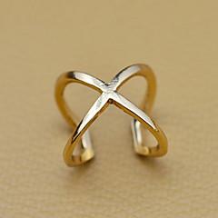 vrouwen holle x vorm open ring