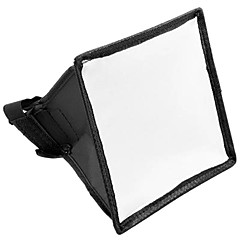 15x17cm hordozható flash Softbox diffúzor vaku A Canon Nikon