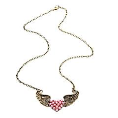 2013 våren nya ängel vingar hjärta halsband N29