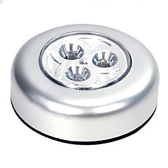 3-LED Light Push Lamp voor plafond-of Ground