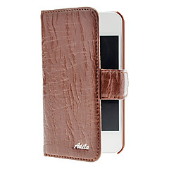 Willow Raita Soft PU Leather Full Body Case-korttipaikka iPhone 4/4S (valinnainen värit)