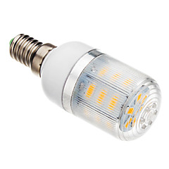 5W E14 LED Corn Lights T 24 SMD 5730 530-560 lm Warm White AC 220-240 V