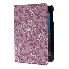 iPadのミニのための回転可能なブドウと花のエンボス加工ケース3、iPadのミニ2、iPadのミニ(アソートカラー)
