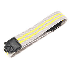 S-2-GY+YL Grey and Yellow Shoulder Straps for SLR Camera