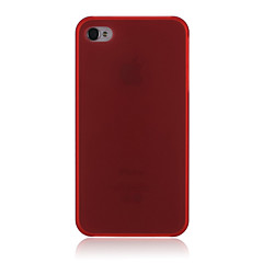 Brilliant Style Matting Case Semitransparent Hard Protective Plastic Case for iPhone4/4S(Assorted Colors)