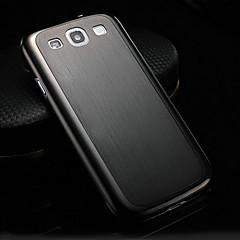caixa de alumínio de luxo fino escovado para Samsung Galaxy S3 i9300