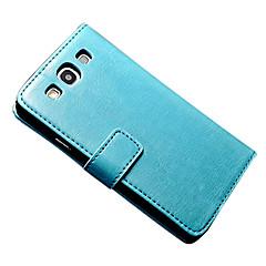 Varten Samsung Galaxy kotelo Lomapkko / Korttikotelo / Tuella / Flip / Magneetti Etui Kokonaan peittävä Etui Yksivärinen Tekonahka Samsung