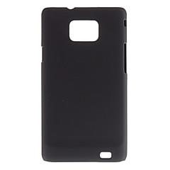 Samsung 은하 S2 I9100를위한 금속 느낌 보호용 플라스틱 케이스