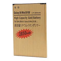 삼성 갤럭시 S4 미니 i9190를위한 2850mah 셀룰라 전화 건전지