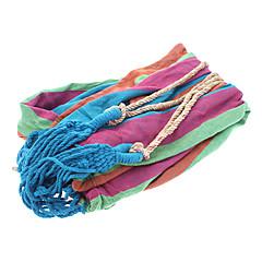 Hoge kwaliteit kleurrijke strepen Hangmat