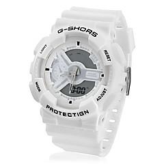 Sportief Digitaal Horloge Met Nachtlampje - Wit