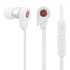 Syllable G02-002 Stylish In-Ear Earphone Control for Android Phone-White