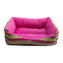 Caldo accogliente barra il reticolo stile divano letto per animali Cani (colori assortiti)