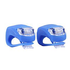 Wasserdichte Silikon Blinklicht Kopf Rücklicht LED-Taschenlampe mit Doppel