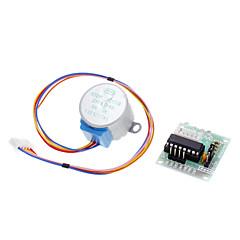 dc 5v 4-fase 5-draads stappenmotor + driver board testmodule voor de (voor Arduino)