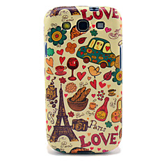 Eiffel Tower & Bread Glossy TPU Case for Samsung Galaxy S3 I9300