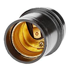 E27 Droplight Lamp Holder (zwart)