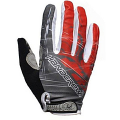 AUTHENTIC Men's Cycling Gloves Full Finger Professional GEL Bicycle Cycling Gloves