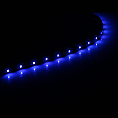 0,3 15x1210SMD Cool White \ Blue Light LED αδιάβροχο ευέλικτη φως string (DC 12V)
