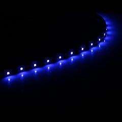 0,3 15x1210SMD Cool White \ Blue Light LED αδιάβροχο ευέλικτη φως string (DC 12V)