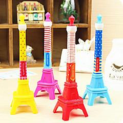 Eiffel Tower Shaped Ballpoint Pen (Random Color)