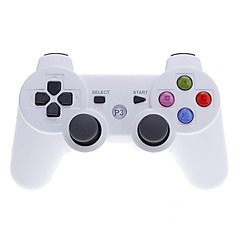 Wireless Bluetooth Controller with Color Buttons for PS3 / PC (White)