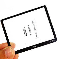 Fotga Premium LCD Screen Panel Protector Glass for Nikon D3200