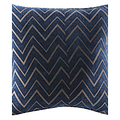 "18"" Modern Geometirc Polyester Decorative Pillow Cover"