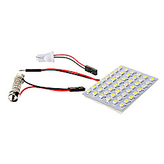 T10 2.5W 48x1210SMD 175LM White Light LED Bulb for Car (DC 12V)